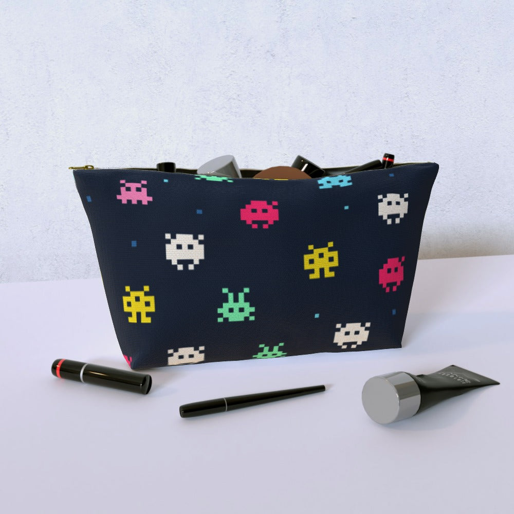 Cosmetic Bag - Invaders, Luggage & Bags by Print On It