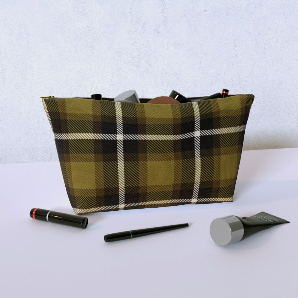 Cosmetic Bag - Textured Fabric Yellow, Luggage & Bags by Print On It