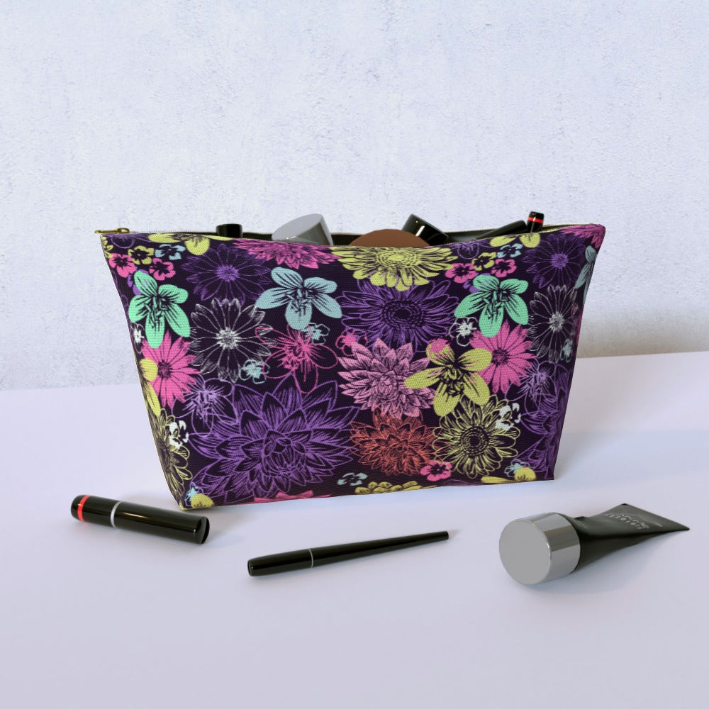 Cosmetic Bag - Flowers by  Print On It