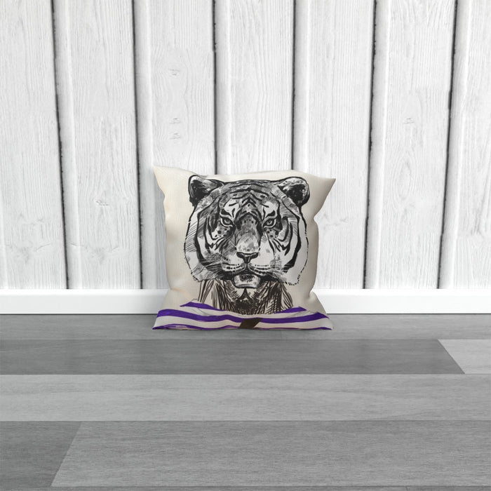 Cushion - To Cool For School Tiger - printonitshop