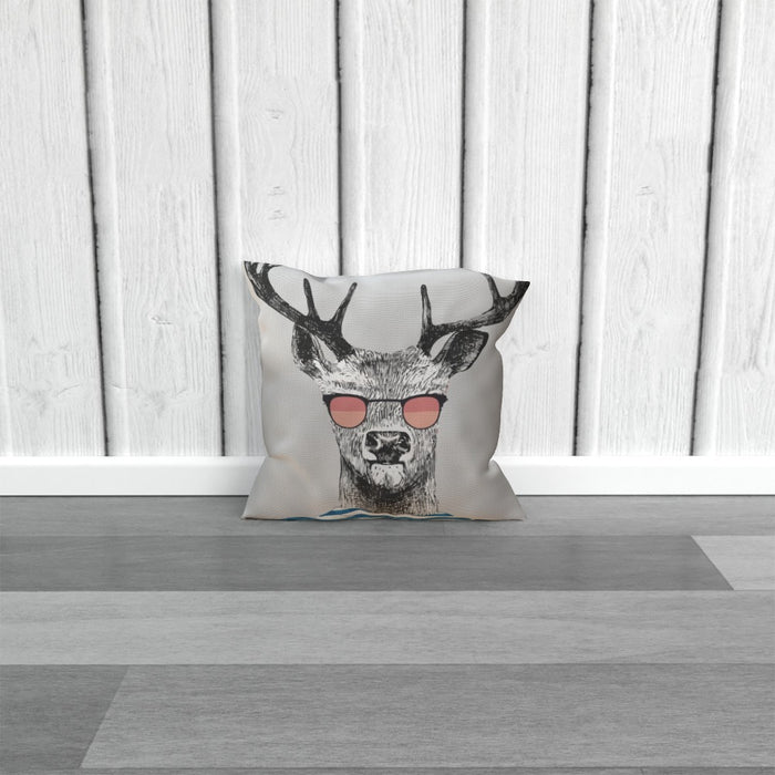 Cushion - To Cool For School Deer - printonitshop
