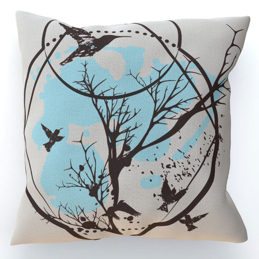 Cushion - Bird Tree - printonitshop