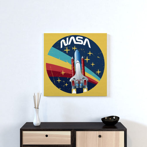 Wall Canvas - NASA Rocket - printonitshop