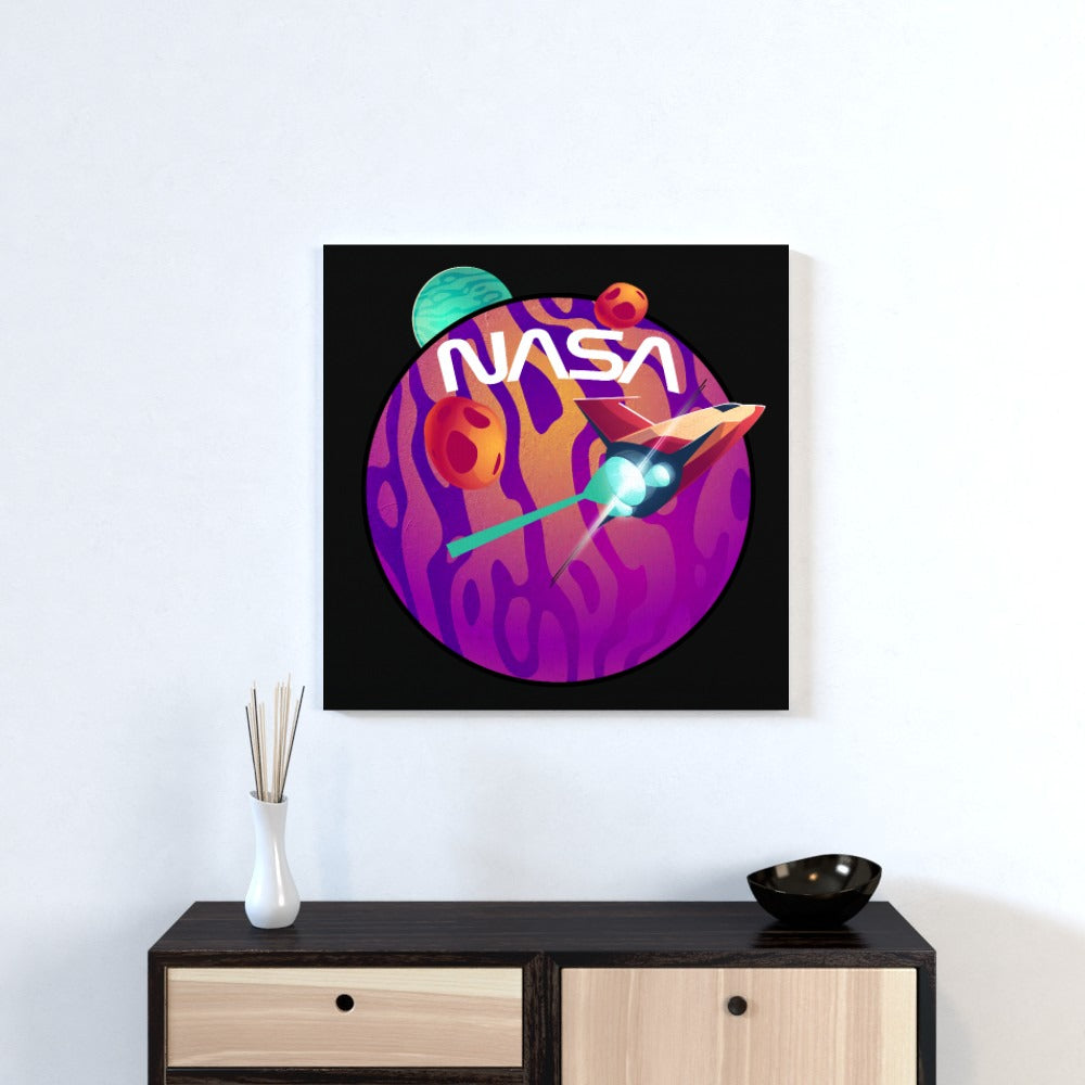 Wall Canvas - NASA 1, Textiles by Print On It