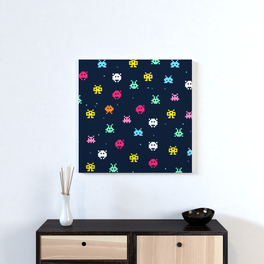Wall Canvas - Invaders, Hobbies & Creative Arts by Print On It