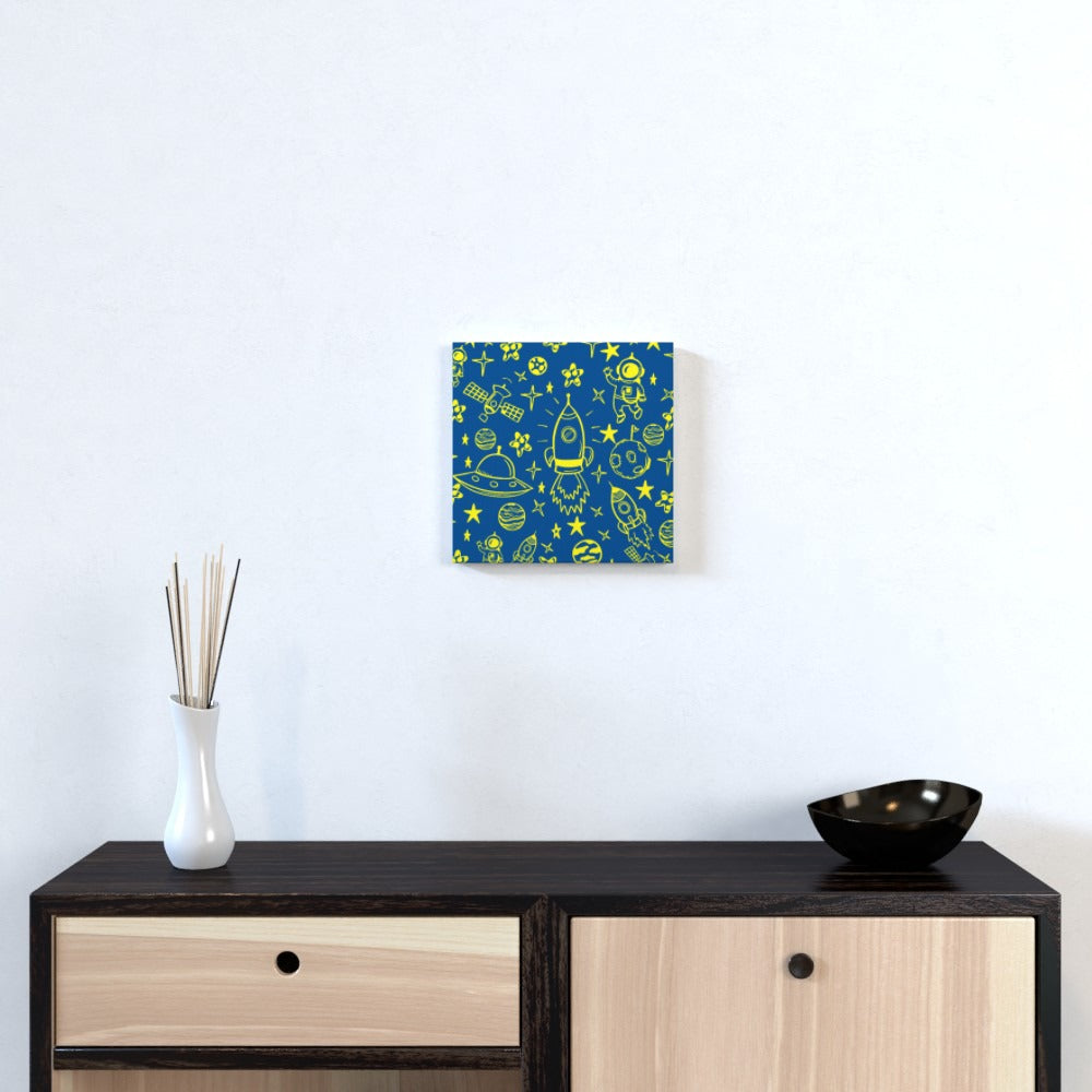 Wall Canvas - Space by  Print On It