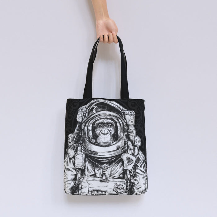 Tote Bag - Space Monkey - printonitshop
