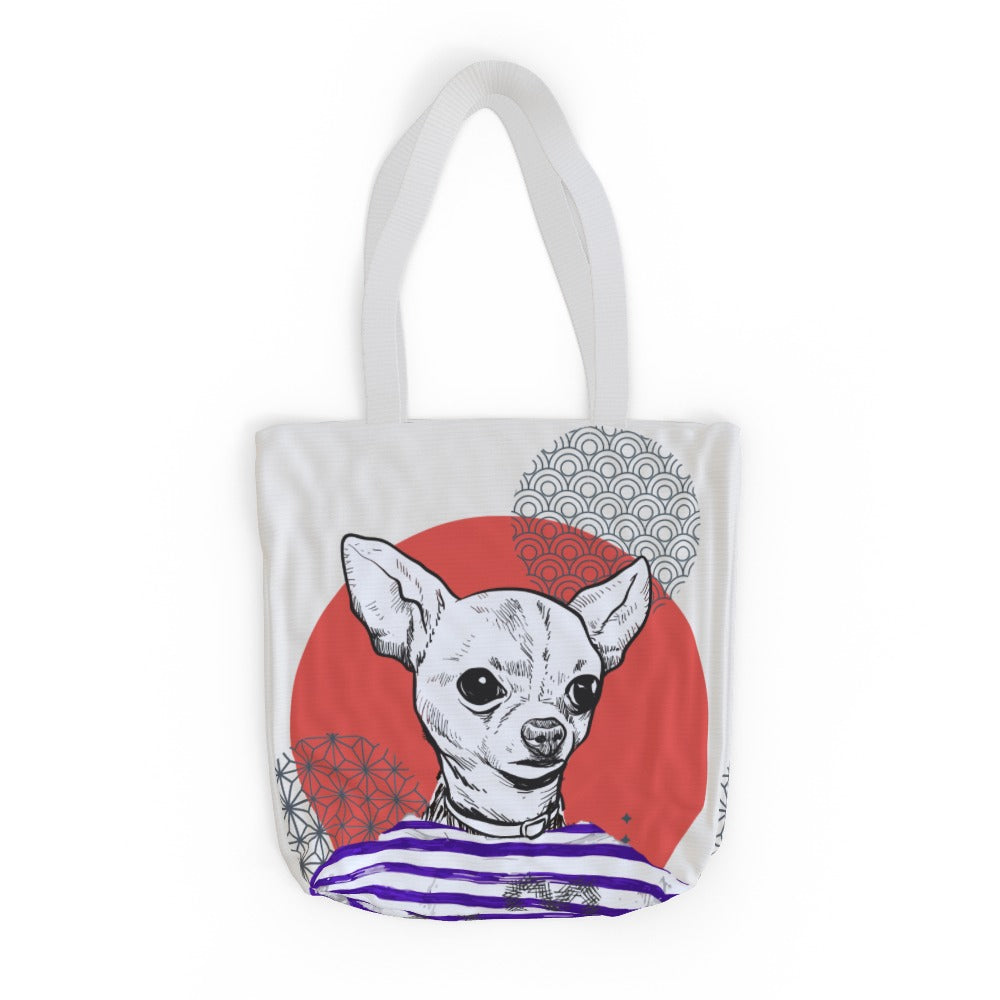Tote Bag - To Cool For School Chihuahua, Luggage & Bags by Print On It