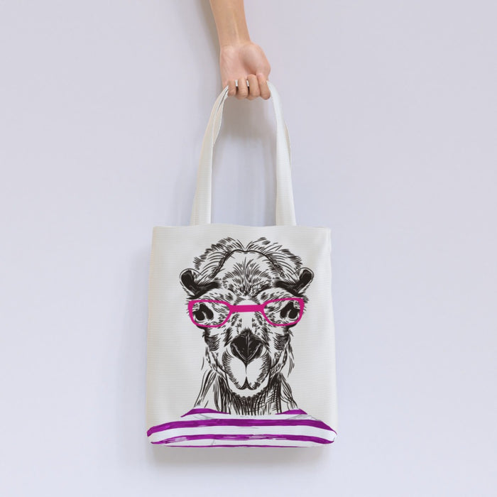 Tote Bag - To Cool For School Camel - printonitshop