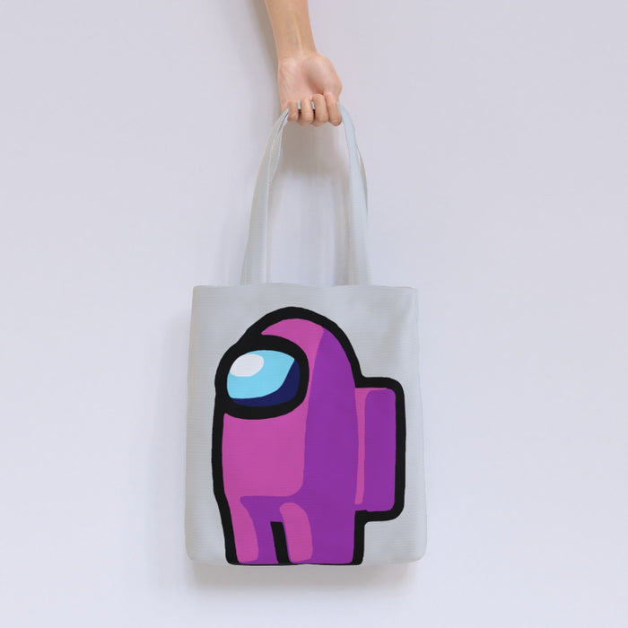 Tote Bag - Among Us Pink - printonitshop