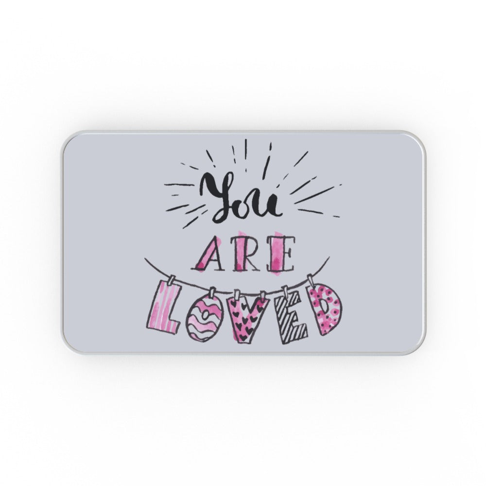 Metal Tins - You Are Loved, Gift Wrapping by Print On It