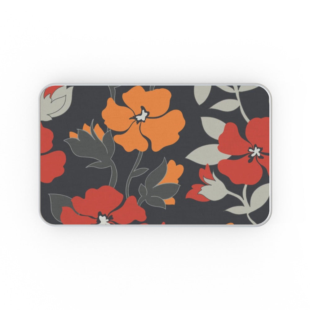 Metal Tins - Orange Flowers, Gift Wrapping by Print On It