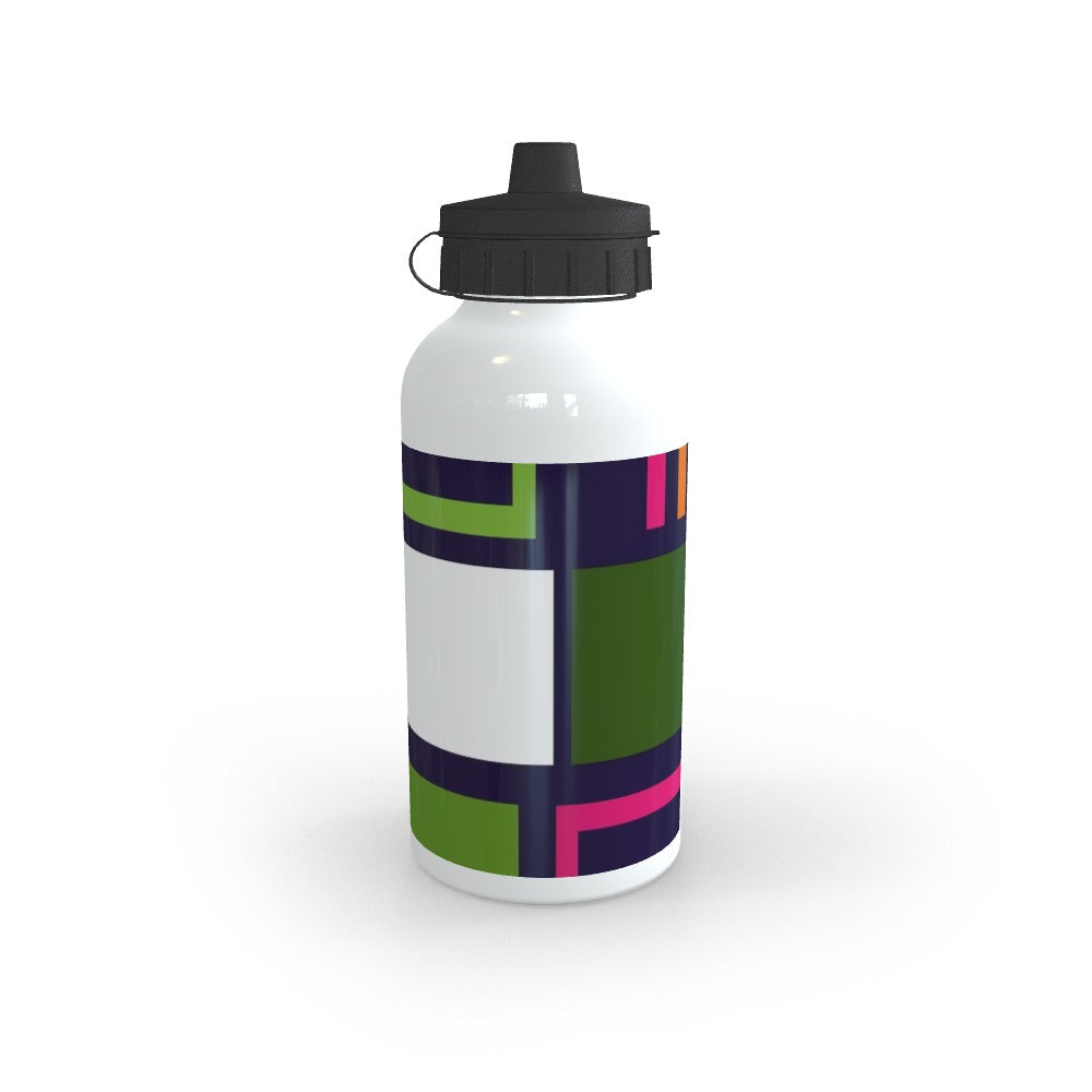 Sports Bottles - Abstract Blocks, Food & Beverage Carriers by Print On It