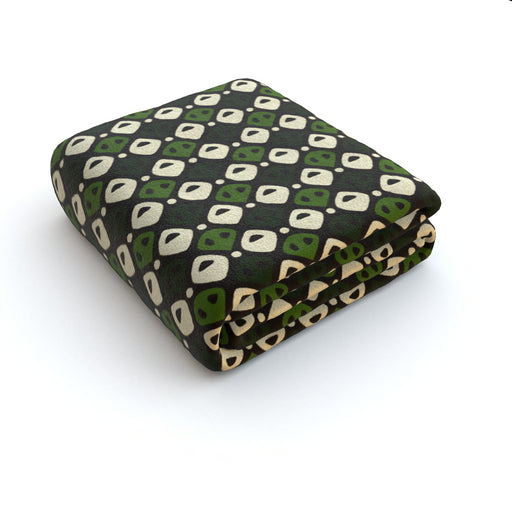 Blanket - Abstract Green - printonitshop