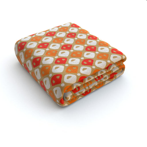 Blanket - Abstract Orange - printonitshop