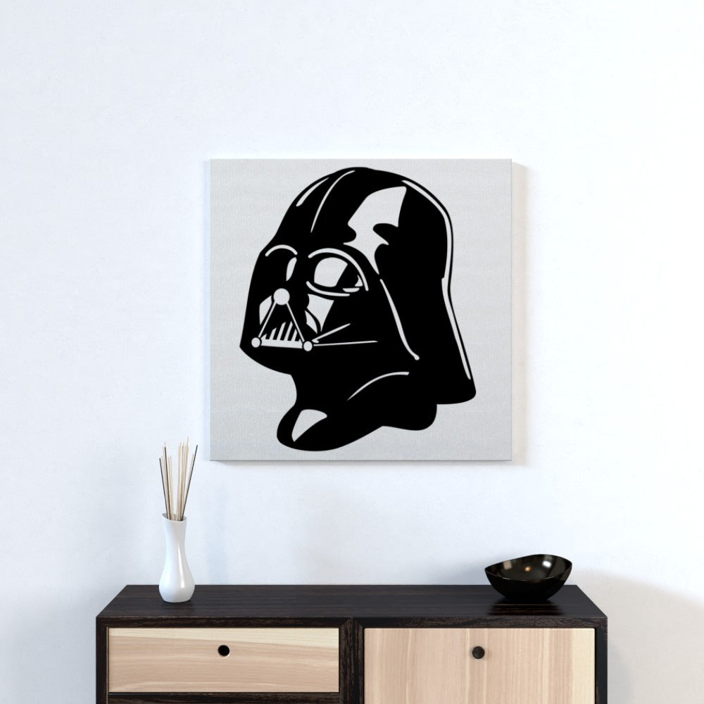 Wall Canvas - Vader, Textiles by Print On It