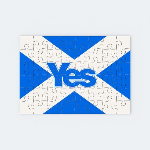 Jigsaw - Scotland Yes - printonitshop