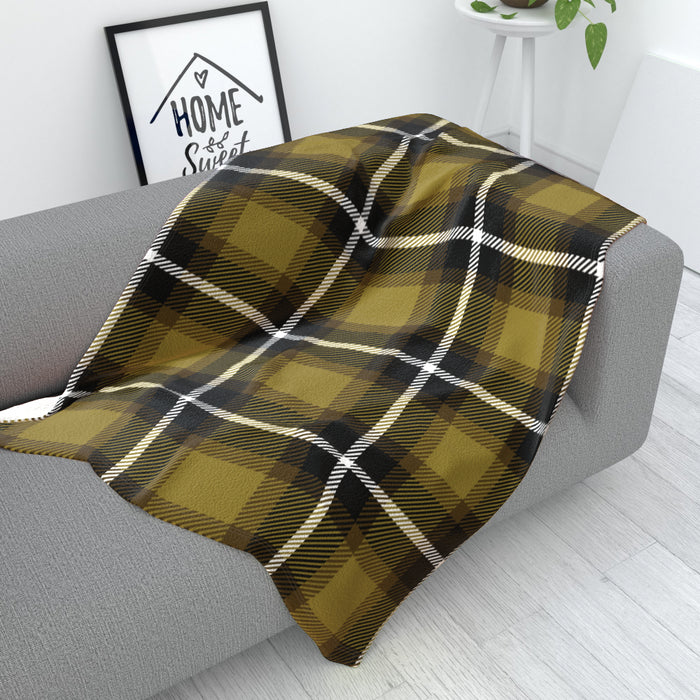 Blanket - Fabric Texture Yellow - printonitshop
