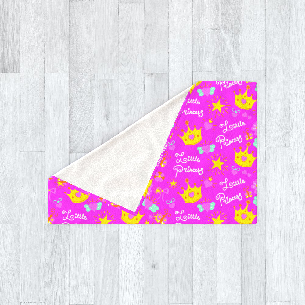 Blanket Throws - Little Princess by  Print On It