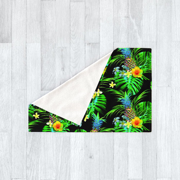 Blanket - Tropical Black - printonitshop