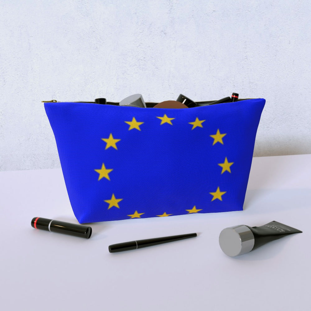 Cosmetic Bag - European Union by  Print On It