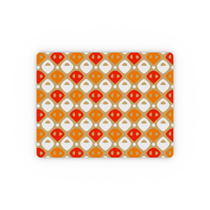 Placemat - Abstract Orange - printonitshop
