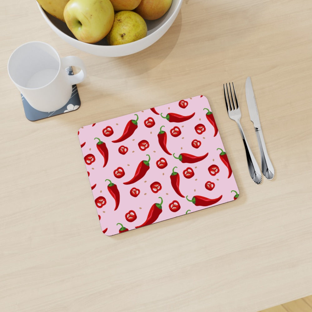 Placemat - Chilli by  Print On It