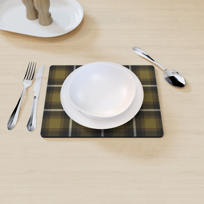 Placemat - Textured Fabric Yellow - printonitshop
