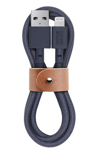 Cable Native Union USB-A a Lightning - 1.2M Belt Marine