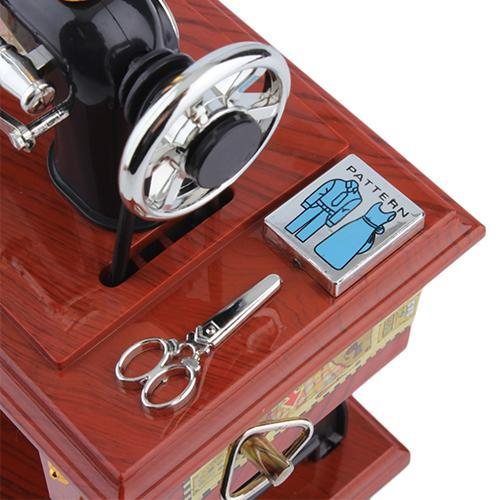 Black Friday Limited Sale-Mini Sewing Machine Music Box