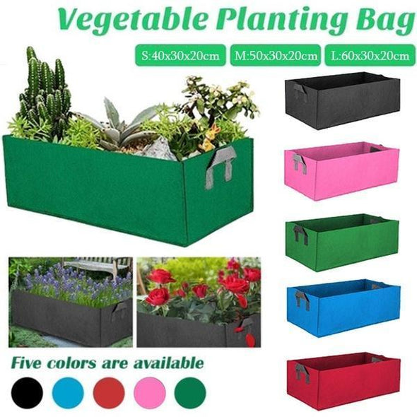 Rectangle Fabric Raised Garden Bed
