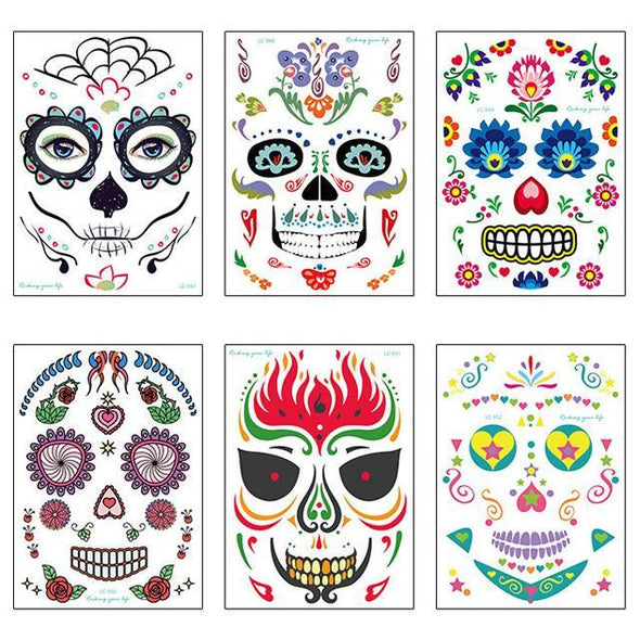 (50%OFF)Halloween Waterproof Temporary Tattoo Sticker—Buy 2 sets free shipping