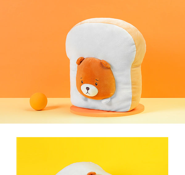 Toast Bear Cushion