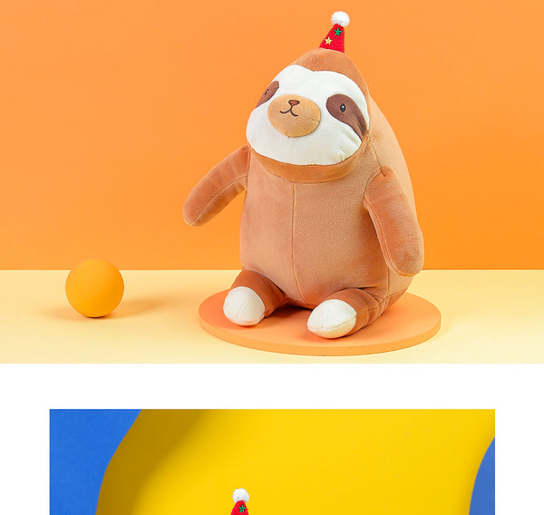 Toast Sloth Plush Toy
