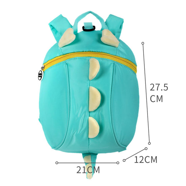Little Dinosaur Anti- Lost Kid's Backpack - Miniso Singapore