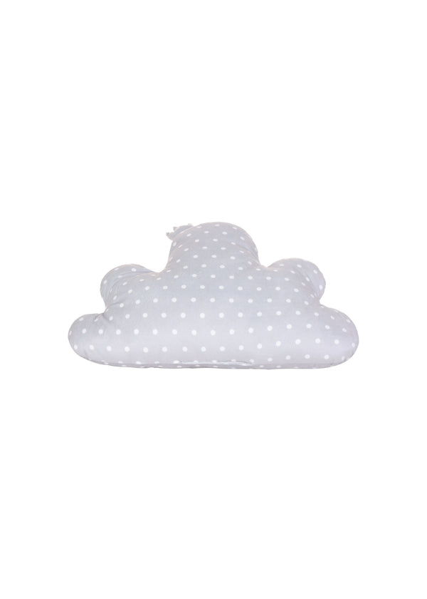 Dot Cloud-shaped Pillow with Crown - Miniso Singapore