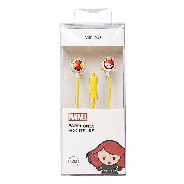 MARVEL- Earphones - Miniso Singapore