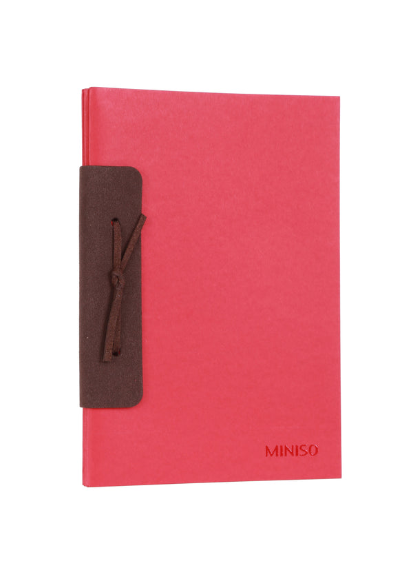 A5 Chamois Planner 26 Sheets - Miniso Singapore