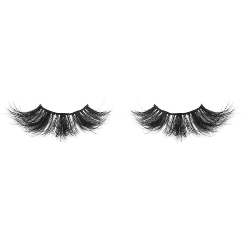 25mm Real Mink False Eyelashes ME02 (Pink Box)