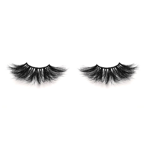 25mm Real Mink False Eyelashes ME09 (Pink Box)