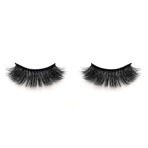 Faux Mink False Eyelashes FY10 (Purple Box)