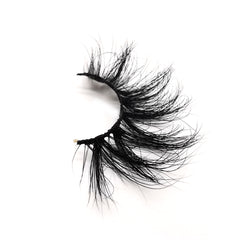 25mm Real Mink False Eyelashes ME14 (Pink Box)