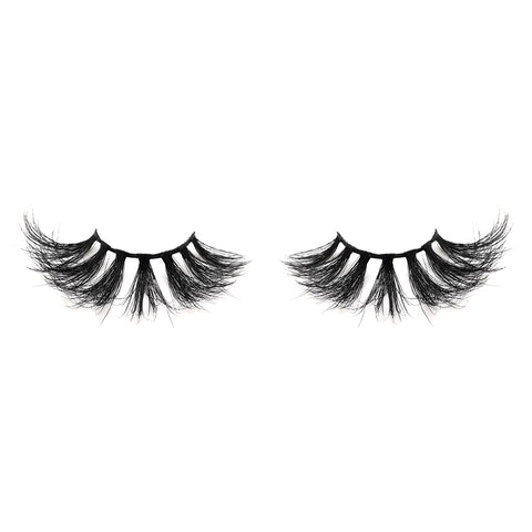 25mm Real Mink False Eyelashes ME17 (Pink Box)