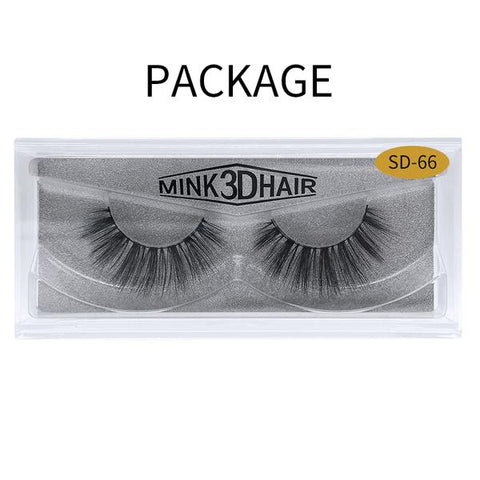 3D Mink False Eyelash SD-66