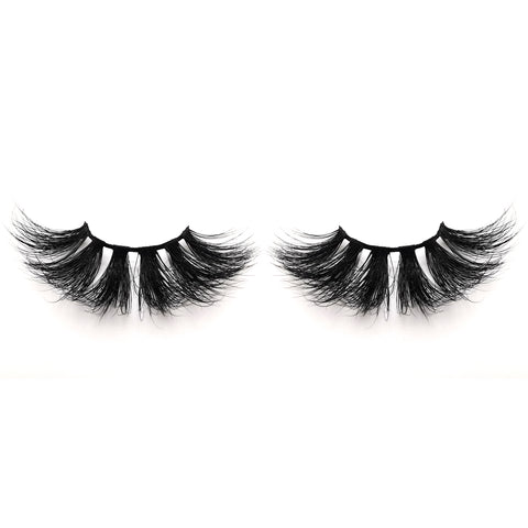 25mm Real Mink False Eyelashes ME20 (Pink Box)
