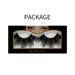 25mm Faux Mink Lashes 6D-05