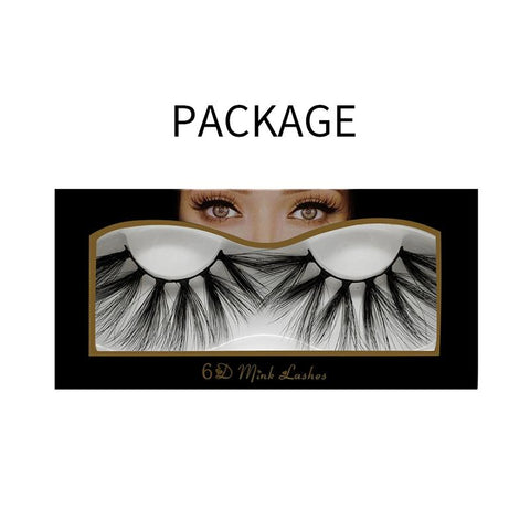 25mm Faux Mink Lashes 6D-09