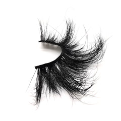 25mm Real Mink False Eyelashes ME08 (Pink Box)