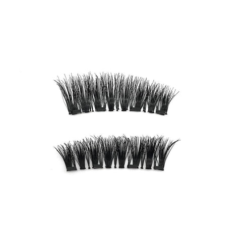 4 Magnets 3D Magnetic False Eyelashes With Quantum Lash Curler DWSP-4