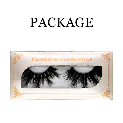 25mm Real Mink Lashes E80